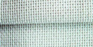 Davosa - 72 fili x 10 cm. - bianco - a metro