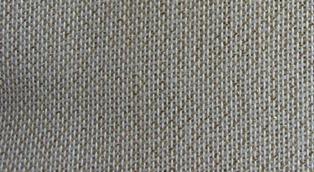 Cotone da ricamo 12 fili cm. - ecrù/lurex - altezza 180 -a metro