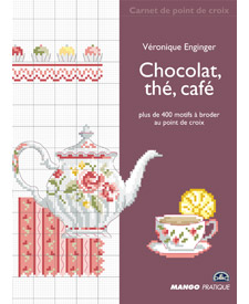 Quaderni di punto croce: Chocolat, thé, café