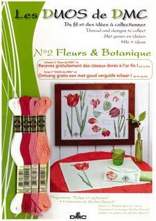 Schema Collezione Fleurs et Botanique - Tulipani e ciclamini