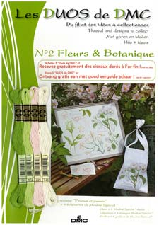 Schema Collezione Fleurs et Botanique - Pruno e gelsomino