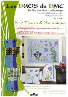 Schema Collezione Fleurs et Botanique - Genziana e campanula