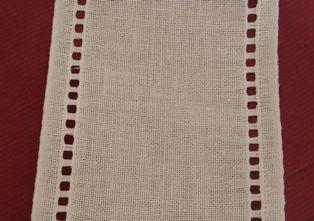 Bordino di lino 11 fili cm. - altezza 11 cm