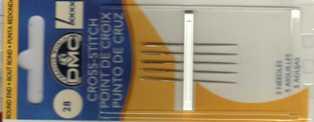 DMC - Aghi Punto Croce - misura 28