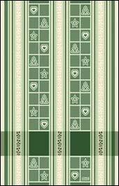 Asciugapiatti Natale - Verde