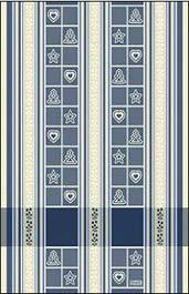 Asciugapiatti Natale - Blu