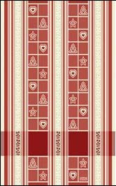 Asciugapiatti Natale - Rosso