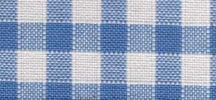 Rustichella quadretti piccoli - Alt. 180 cm. - Azzurro