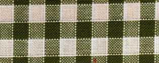 Rustichella quadretti piccoli - Alt. 180 cm. - Verde marcio