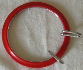Telaio rotondo in plastica - tenuta forte - cm. 7