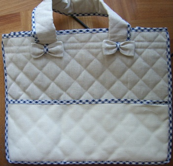 Borsa shopper - con tasca in AIDA