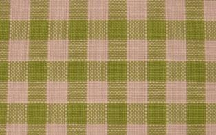 Rustichella quadretti piccoli - Alt. 180 cm. - verde mela