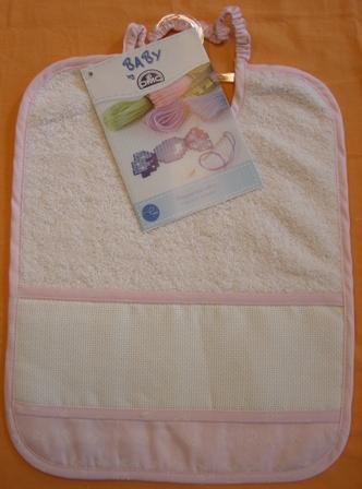 Asilo DMC collezione 2012 - bavaglino - rosa