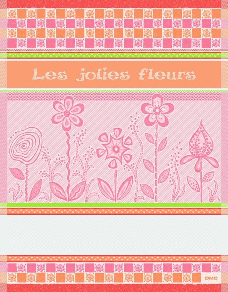 Asciugapiatti Les jolies Fleurs