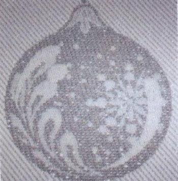 Asciugapiatti Natale - boules - argento